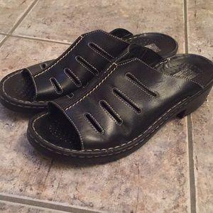 Josef Siegel  Comfort Slide Mule Sandals